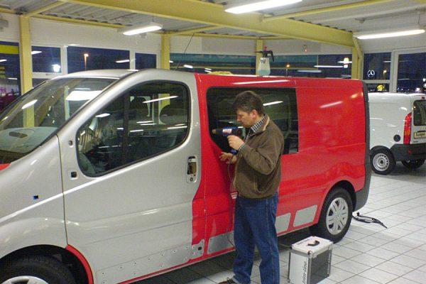 Transporter Fahrzeugfolierung