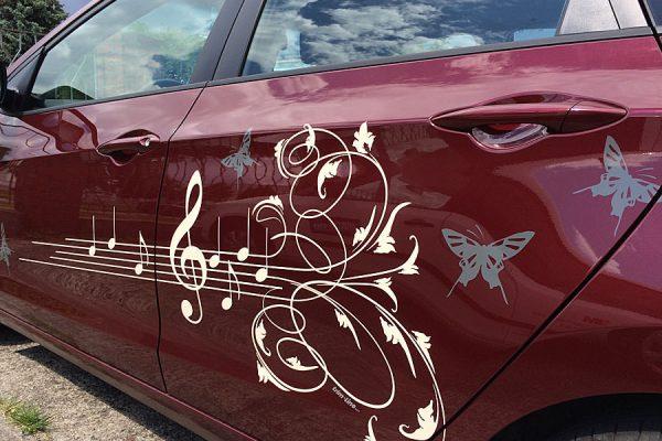 Design am Auto. So individuell wie Ihr Fingerabdruck