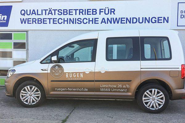 Fahrzeugbeschriftung mit 3M Folien. Qualität bleibt kleben.
