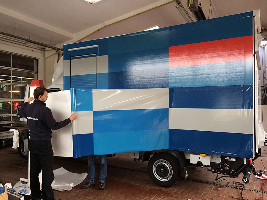 Car-Wrapping mit Trim-Line Design auf der Insel Rügen