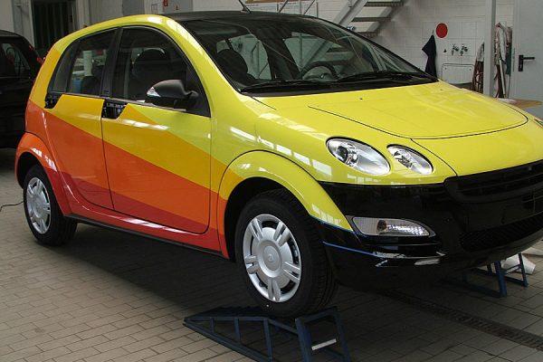 Auto Folierung. Design und Lackschutz im Vordergrund